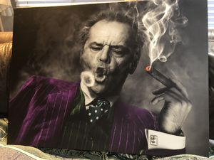 Canvas cultures Joker image 40 x30 in for Sale in Sammamish, WA