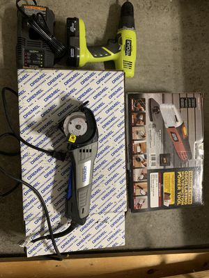 Drill/ dremel saw/ oscillating tool for Sale in Brunswick, OH