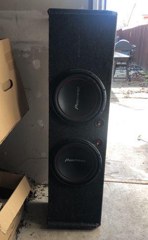 """Pioneer speakers 12"""" for Sale in Dallas, TX"""