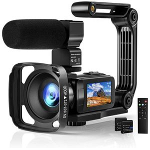 Video Camera 2.7K Camcorder with Microphone Ultra HD 36MP Vlogging Camera for YouTube IR Night Vision 3 Inch Touch Screen Time-Lapse, Slow Motion, Rem for Sale in Colonial Heights, VA