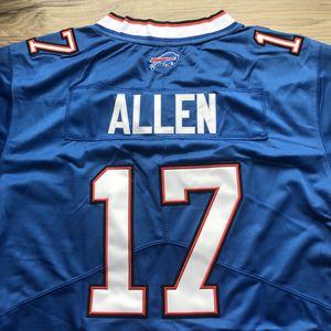 BRAND NEW!🔥 Josh Allen #17 Buffalo Bills Nike ROYAL BLUE Jersey + NFL 💯 Logo + Size Large + WE ONLY SHIP! 📦💨 for Sale in Buffalo, NY
