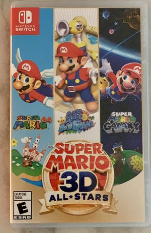 Super Mario 3D All-Stars Nintendo Switch Game for Sale in Alexandria, VA