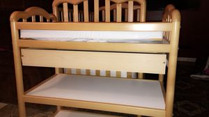 Baby Crib & Diaper Changing Table for Sale in Kearns, UT