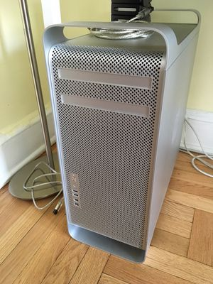 Mac Quad Core Xeon tower and apple monitor used for Sale for sale  New York, NY