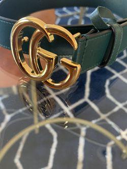Gucci Belt Dark Green Size 85 (34) for Sale in Lynwood,  CA