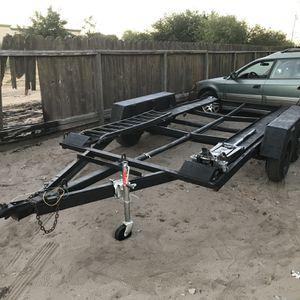 Dbl Axle Car Trailer for Sale in Manteca, CA
