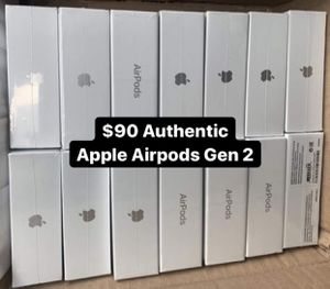 New Apple Airpods Gen 2! Authentic! for Sale in Philadelphia, PA
