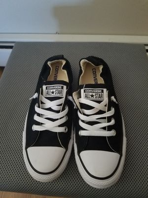 Black size 8 woman's converse for Sale in Brick Township, NJ