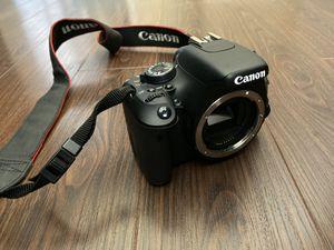Canon EOS T3i Rebel camera for Sale in Rossmoor, CA