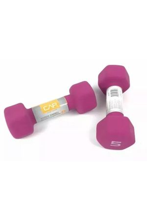 CAP Hex Neoprene 5 lb Pound Set of 2 Dumbbell Weights for Sale in Tolleson, AZ