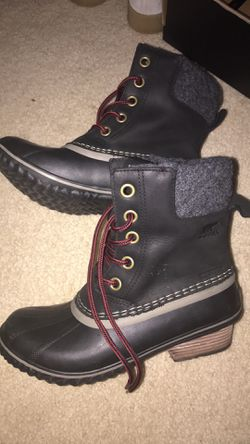 Sorel Slimpack II Lace Snow Boots, Size 7.5 for Sale in Silver Spring,  MD