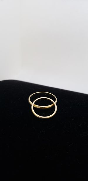 14kt his and hers wedding rings for Sale in Chandler, AZ