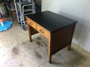 Solid wood 2 drawer desk for Sale in Williamsport, PA