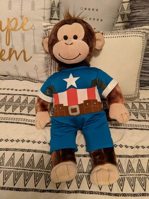 Captain America Monkey from build a bear for Sale in Gilbert, AZ