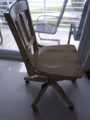 Wood chair for Sale in North Bay Village, FL