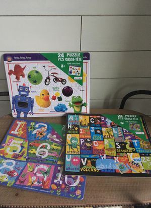 Bundle of kids learning game puzzles for Sale in Stanwood, WA