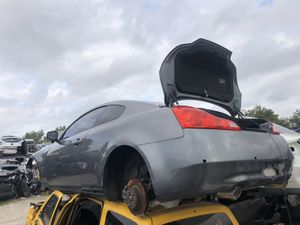 2012 Infiniti G 37 for parts for Sale in Grand Prairie, TX