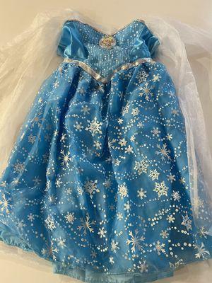 Light up Princess Elsa Halloween costume size 4-6x for Sale in Henderson, NV