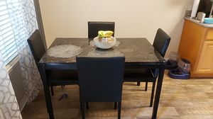 Dining room table 4 chairs new for Sale in Hayward, CA