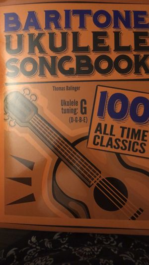 Two Baritone Ukulele Songbooks for Sale in Akron, OH