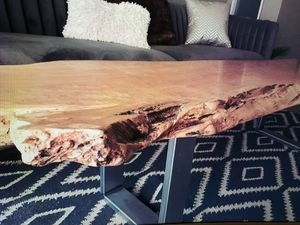 Maple coffee table/ bench for Sale in Seattle, WA