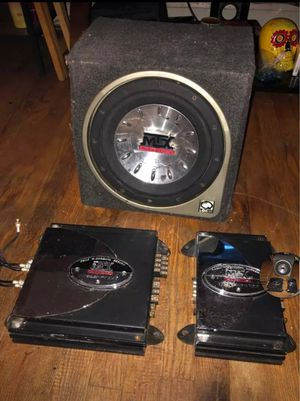 Subwoofer and two amplifiers for Sale in Hillcrest Heights, MD