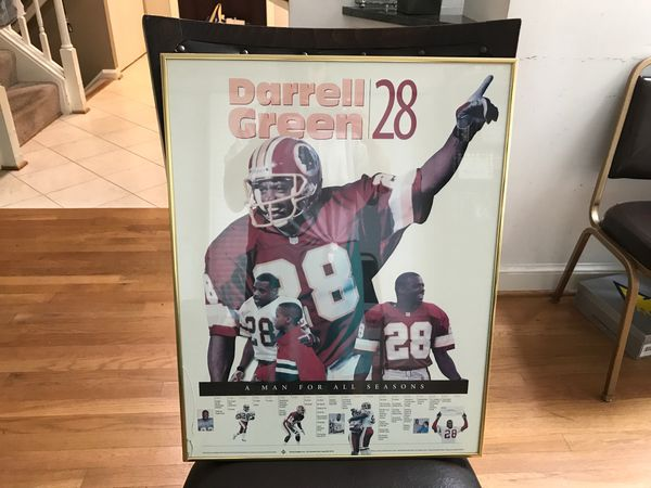 Redskins Darrel Green framed picture