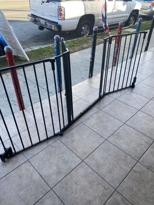 Baby or pets gate super wide. 72 inches wide adjustable for Sale in Los Angeles, CA