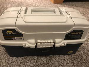 Plano Three Tray Tackle Box for Sale in Apollo Beach, FL