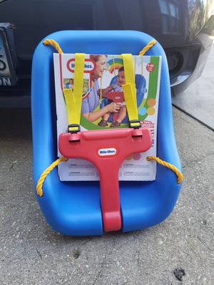 Little tikes safety swing for Sale in Fort Washington, MD