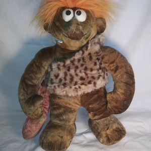"""Vintage Chosun International Caveman 15"""" Plush Stuffed Doll Toy Orange Hair for Sale in Dewey, AZ"""