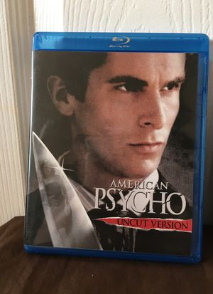 American psycho blu-ray for Sale in Vista, CA
