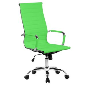 Premium High Back Leather Executive Office Chair, Green for Sale in Houston, TX