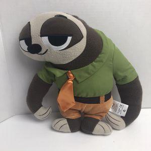 Disney Zootopia Flash Sloth Plush Pillow Stuffed Animal for Sale in Avon Lake, OH