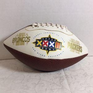 Super Bowl XXXII Mini Football Denver Broncos | Green Bay Packers 1998 for Sale in Goodyear, AZ