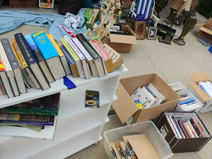 Lots of books, toys, clothes, everything must go Moving Sale for Sale in San Luis Obispo, CA