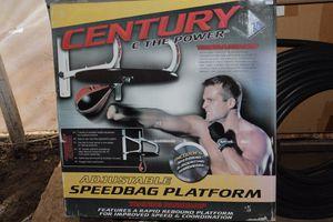 Speed bag punching platform for Sale in Portland, OR
