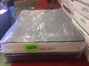 Set queen mattress+boxspring for Sale in Washington, DC