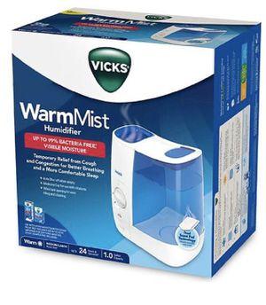Vicks WarmMist Humidifier 1.0 gallon for Sale in Miami, FL