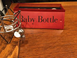 Blue Baby Bottle NEW, zero use. for Sale in Visalia, CA