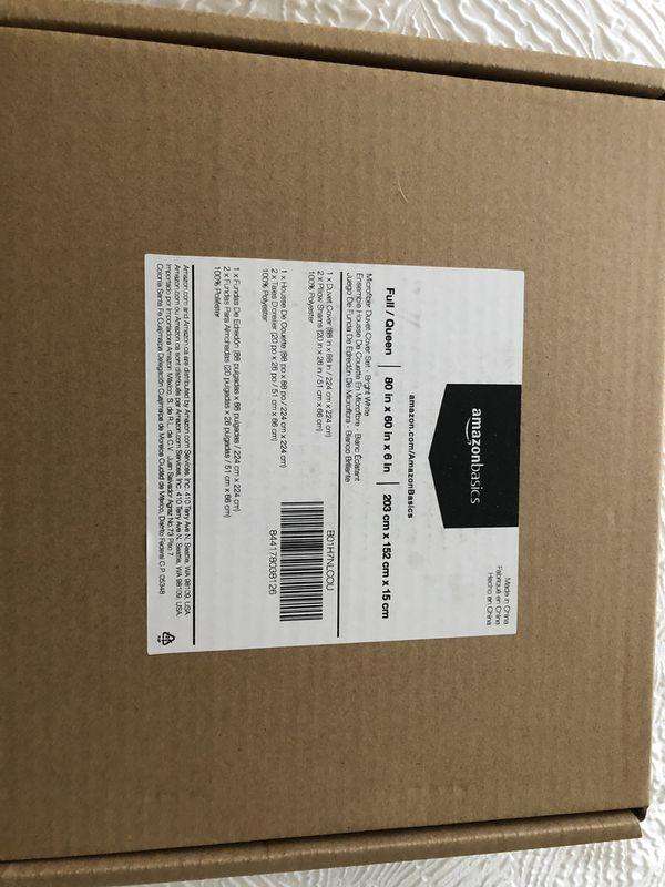 NEW Microfiber comforter duvet cover w/ pillow shams