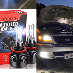 Led Headlights 25$ Free License Plate LEDs With Purchase for Sale in East Los Angeles, CA