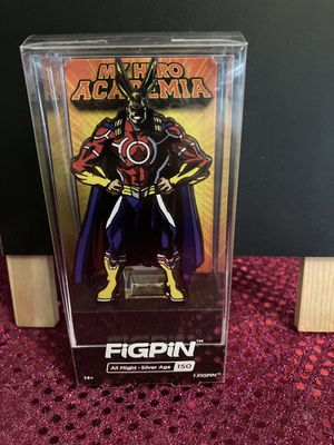 All Might Silver Age FigPin for Sale in Wichita, KS