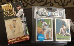 Brand new baseball cards over 7,200 cards for Sale in San Jose, CA