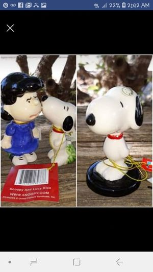 Peanuts Snoopy and Lucy collectables for Sale in San Angelo, TX