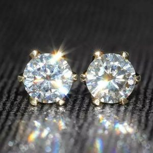 New 1.6 ct moissanite diamonds stud earrings!!! for Sale in Bloomfield Hills, MI