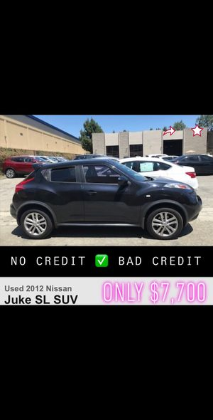 2012 Nissan Juke sl leather clean title bad credit finance car dealer uber clean title lyft automatic suv for Sale in Long Beach, CA