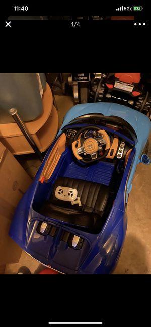 Buggati Parent Control / Power Wheels Car for Sale in UPR MARLBORO, MD