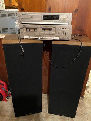 Marantz Cassette player CD player and two speakers for Sale in Stockbridge, GA