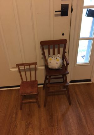 2 Antique doll chairs for Sale in Broadview Heights, OH